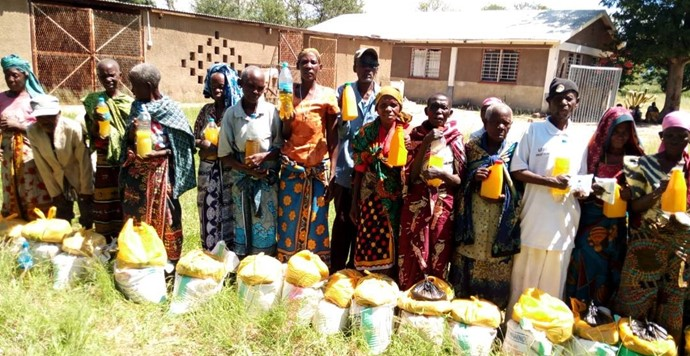 TLM NI responds to Tanzania drought
